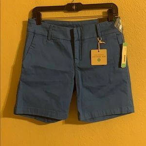 NWT Kut from the Kloth blue walking shorts 4